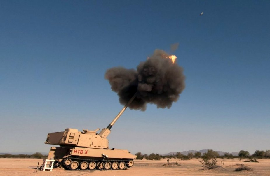 U.S. Army designates its new 155mm self propelled howitzer as M1299