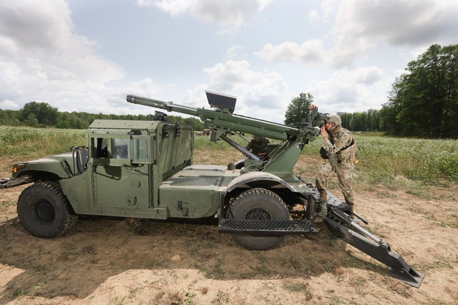 US National Guard has tested Hawkeye 105mm mobile artillery system during Northern Strike 19 925 001