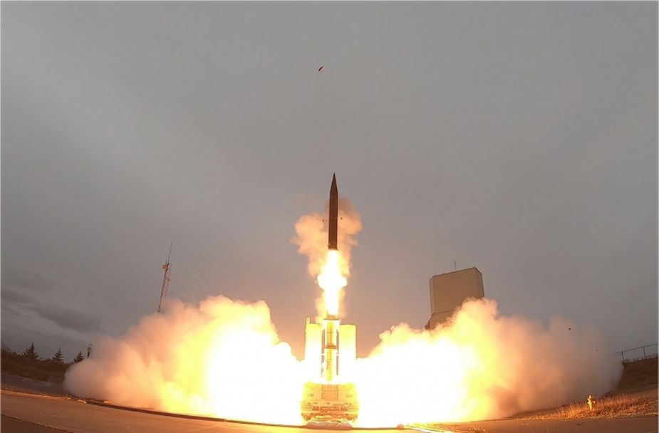 US and Israel completed successful flight test with Arrow 3 missile 925 001