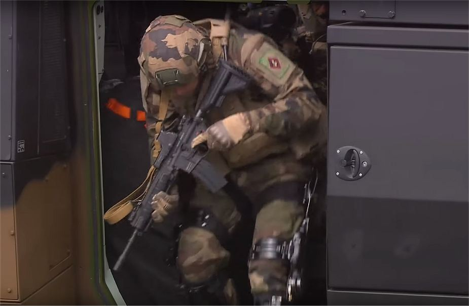Exoskeleton from Safran Secret weapons and new military equipment unveiled by French Army 925 001