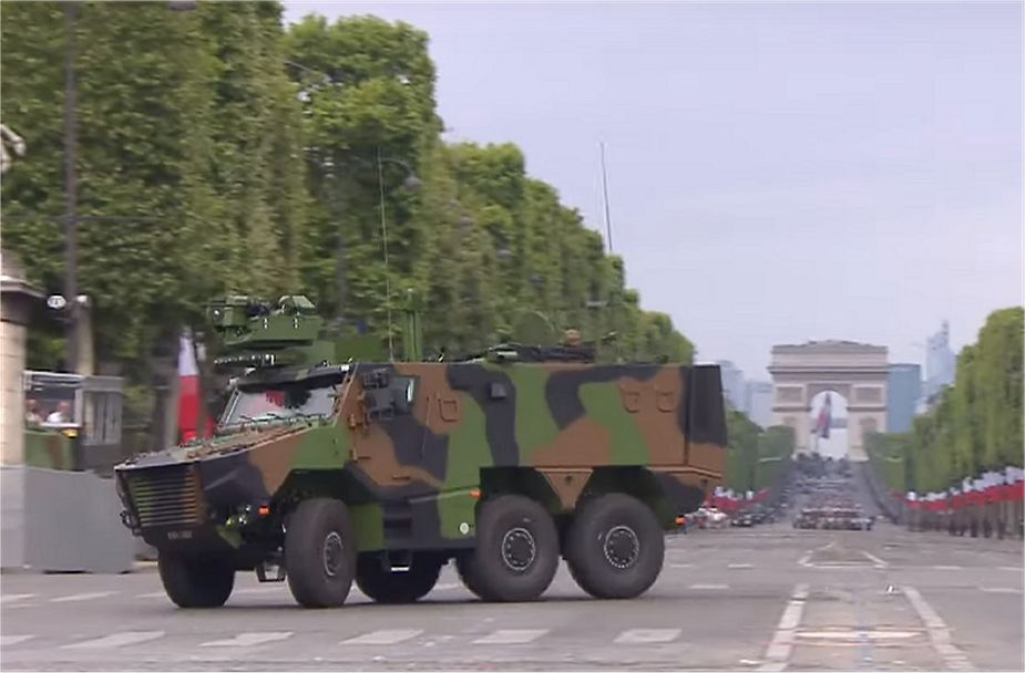 Griffon VBMT Secret weapons and new military equipment unveiled by French Army 925 001
