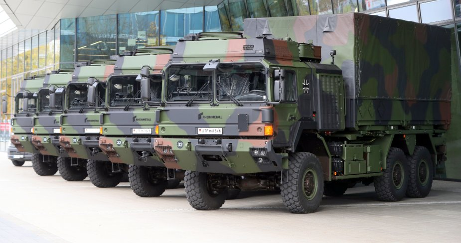 German army to buy 252 unprotected transport vehicles from Rheinmetall 2