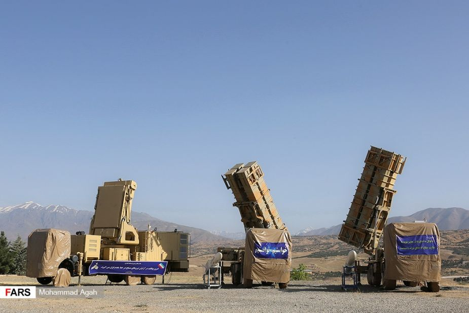 Iran unveils new Khordad 15 air defense missile system 925 002