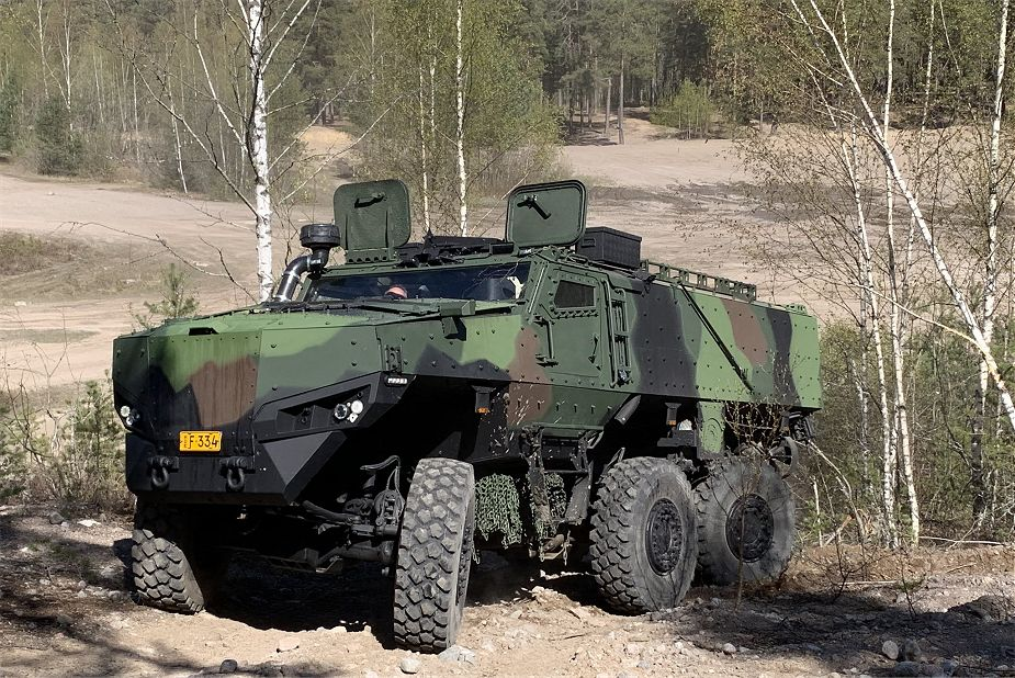 Protolab to deliver first PMPV 6x6 Protected Multi Purpose Vehicles to Finnish Army 925 001
