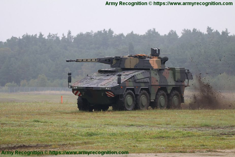 Rheinmetall spearheads ongoing consolidation in military vehicle sector 925 001