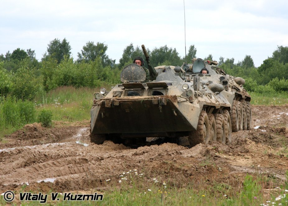 Turkemistan upgrades BTR 80 APC 1