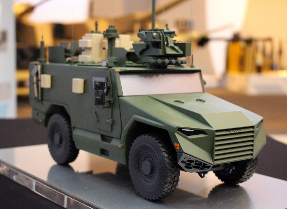 French 3rd Engineer Regt participated to VBMR L Serval APC mock up manufacture 2