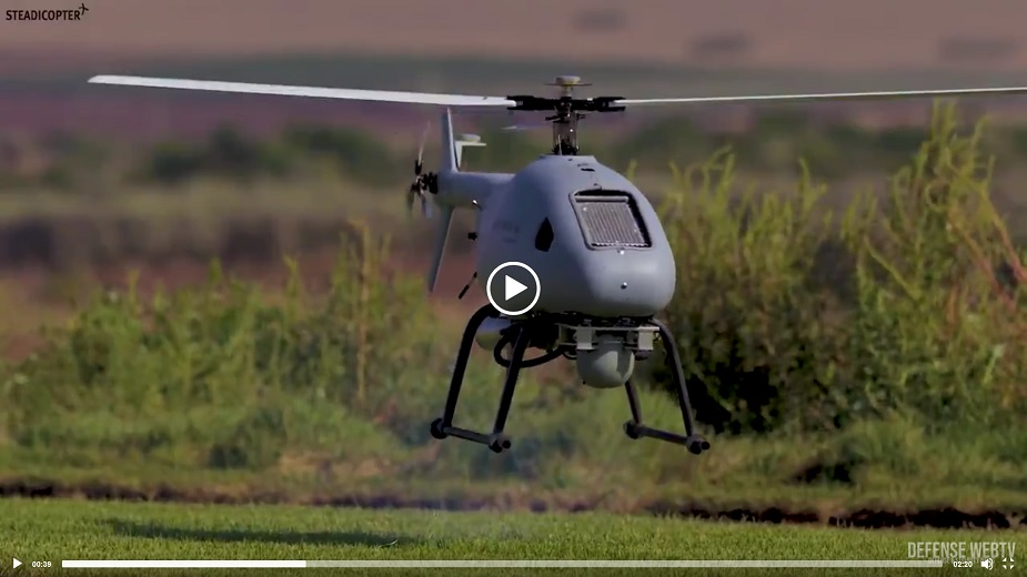 ISDEF 2019 Steadicopter to showcase its Unmanned Robotics Helicopters VIDEOLINK