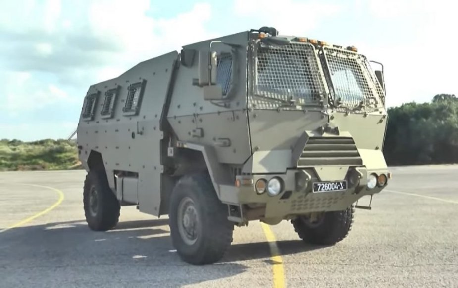 Israel Panther new armored personnel carrier for IDF