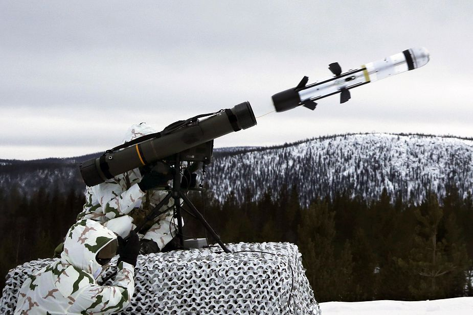 MBDA MMP anti tank guided missile qualified for cold weather conditions 925 001