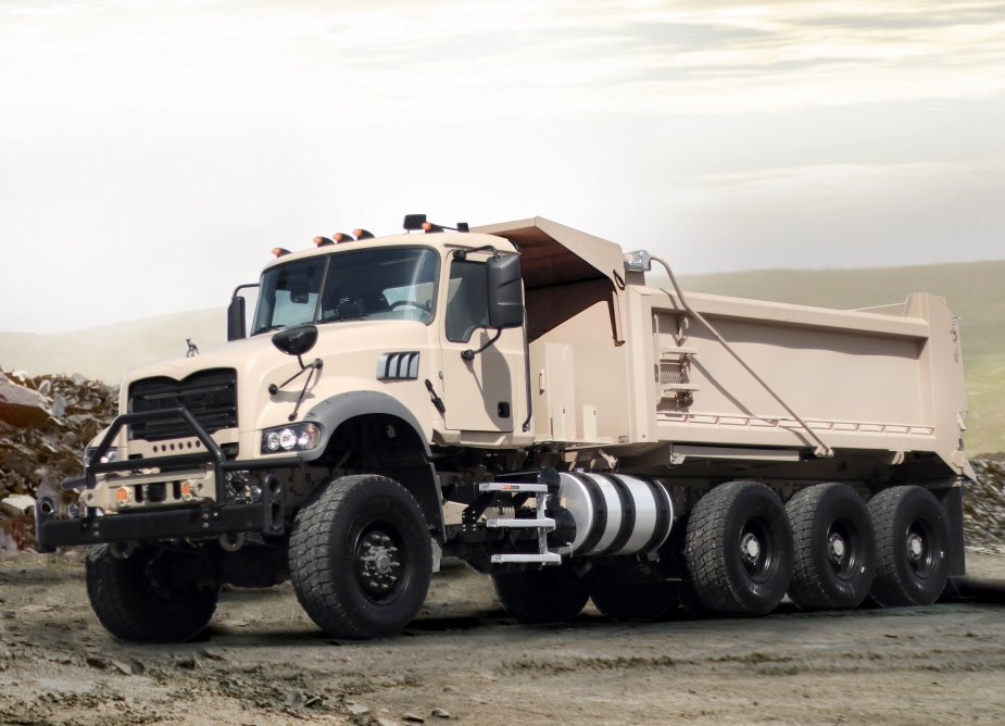 Mack Defense starts testing phase of M917A3 Heavy Dump Truck contract