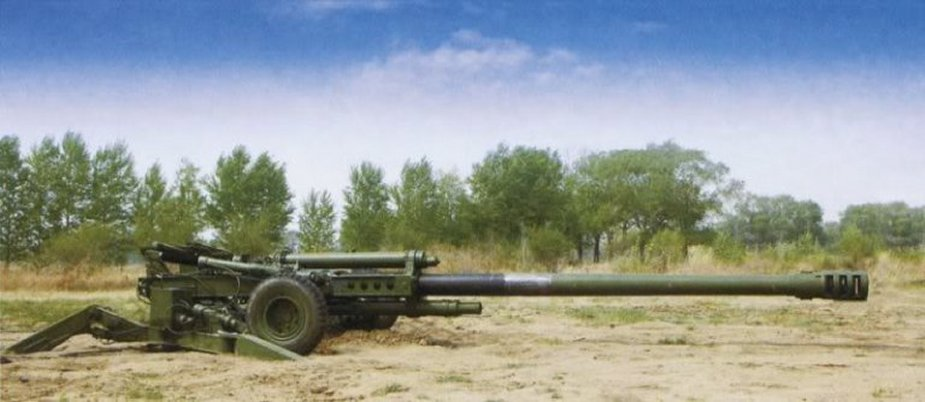NORINCO 155 mm AH4 howitzers for United Arab Emirates army 1