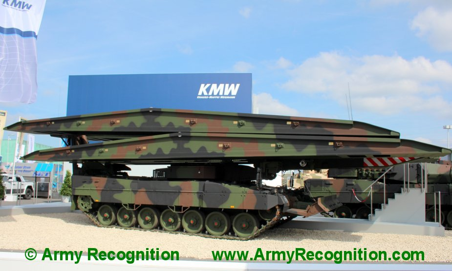 Norway procures Leguan bridge layers on Leopard 2 chassis 1