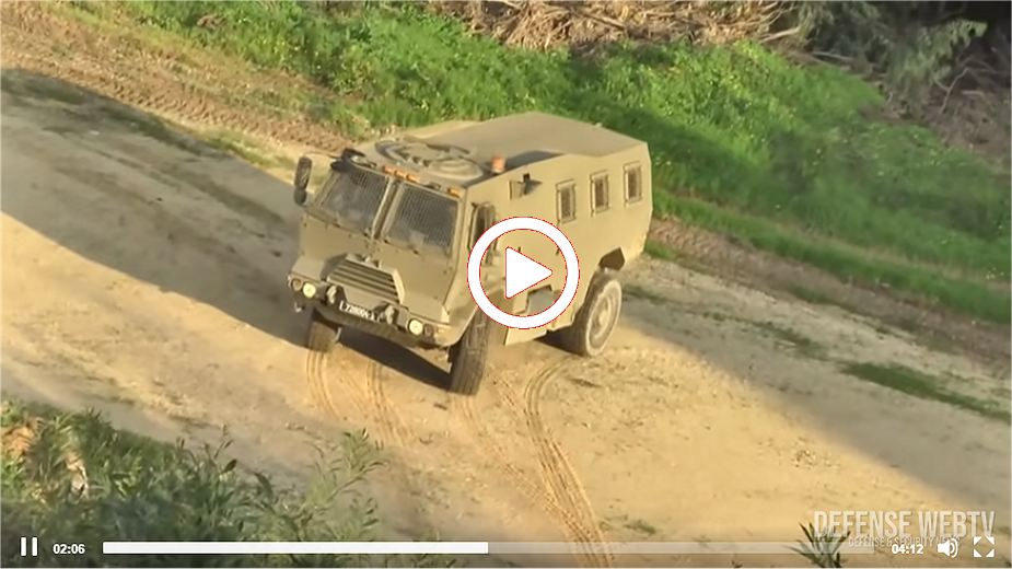 Panther new multipurpose armored personnel carrier for Israel army video image 925 001