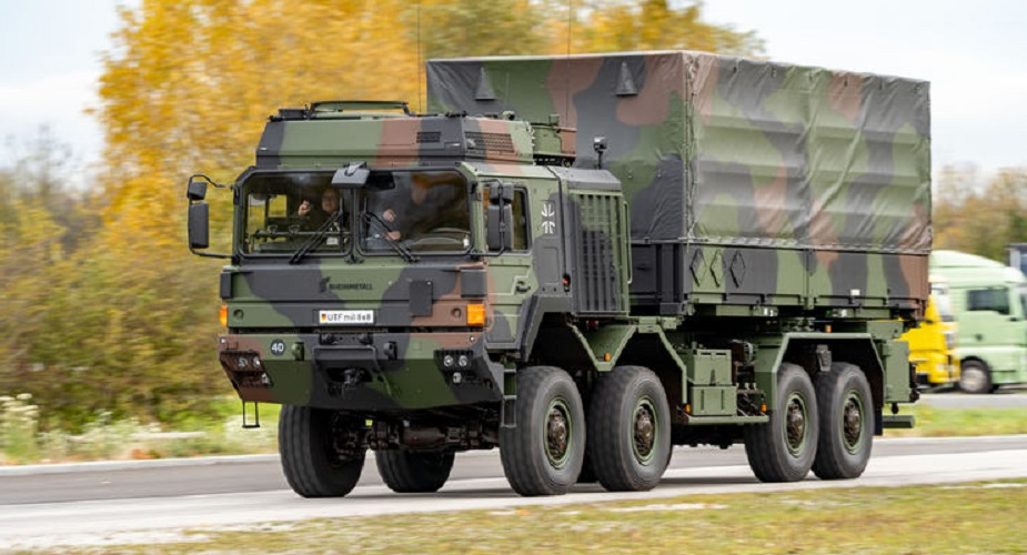 First 60 UTF cargo trucks delivered to German Armed Forces