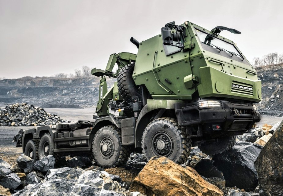 Mack Defense highlights Medium Support Vehicle System Roll Out at CANSEC 2019