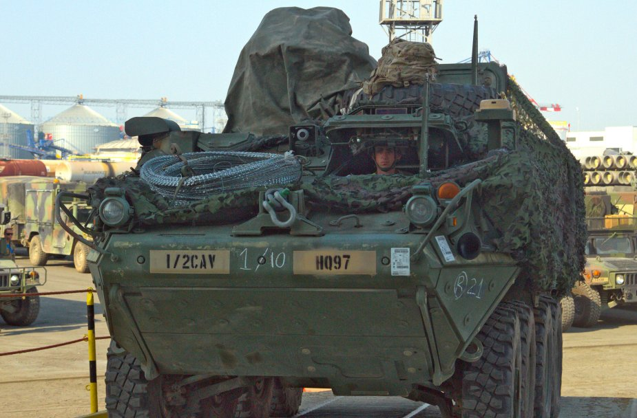 Thai Army to buy and receive refurbished U.S. M1126 Stryker Armored Personnel Carriers