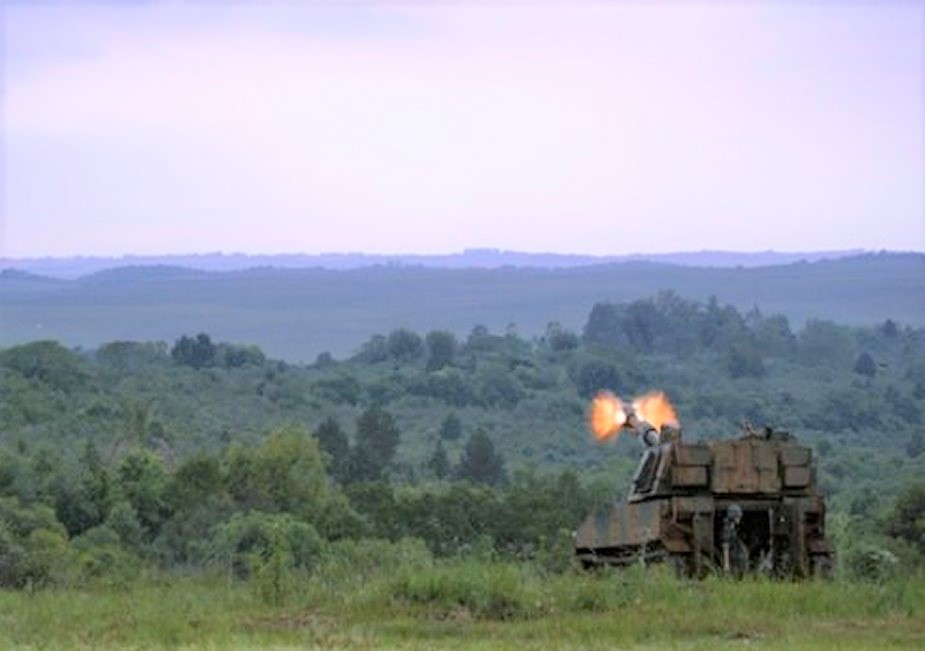 Brazil inducts BAE Systems M109A5 self propelled howitzers