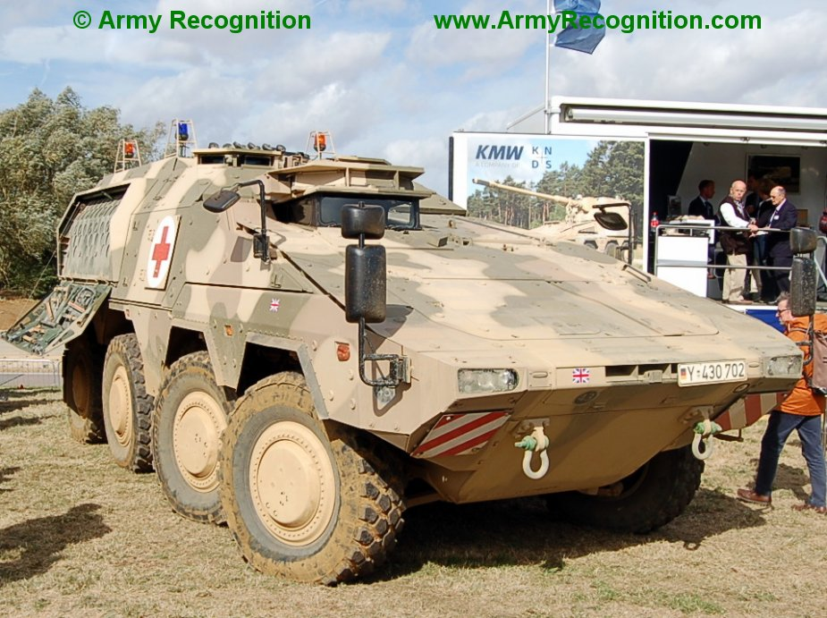 British army signs contract for 500 Boxer MIV fighting vehicles