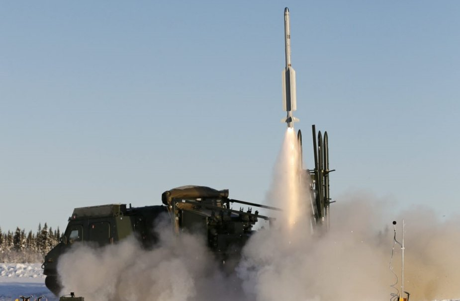 First firing of RBS 98 missile system from Swedish soil