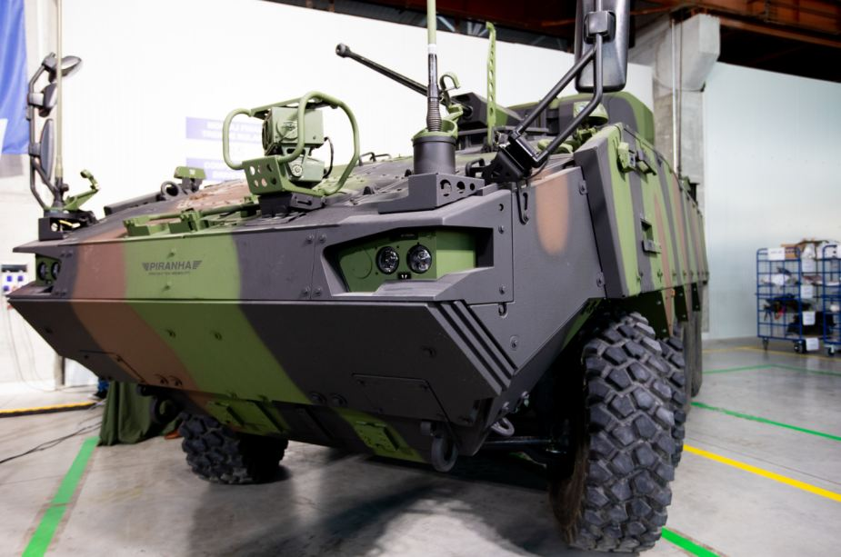 General Dynamics has started production of Piranha 5 8x8 armored vehicles in Romania 925 002