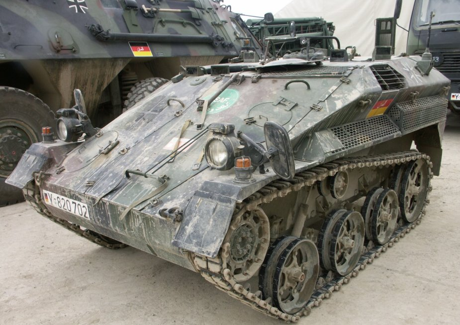German army awards FFG contract to modernize Wiesel 1 fleet