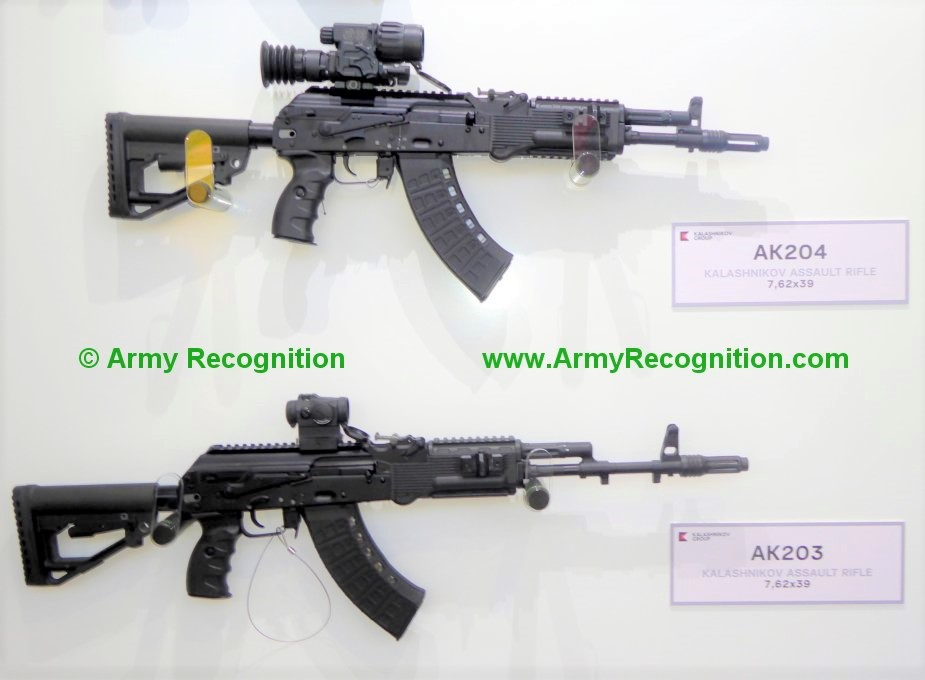 India to produce 670000 AK 203 assault rifles under license
