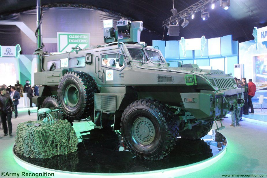 KPE supplies more Arlan armored personnel carriers to Kazakhstan