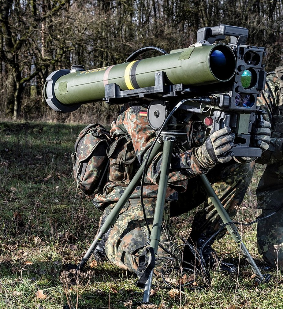 MELLS guided missile for the German Infantry Bundeswehr awards Rheinmetall multi million euro contract 1