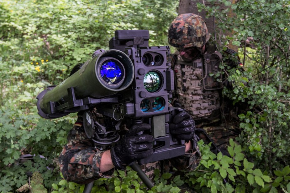 MELLS guided missile for the German Infantry Bundeswehr awards Rheinmetall multi million euro contract 2
