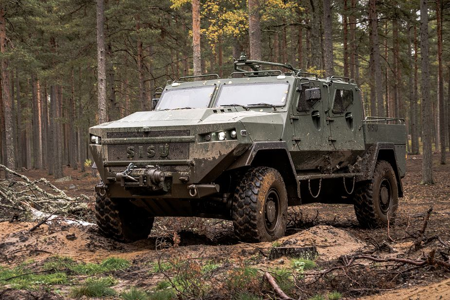 New General Purpose variant in the SISU GTP 4x4 armored vehicle family 925 001
