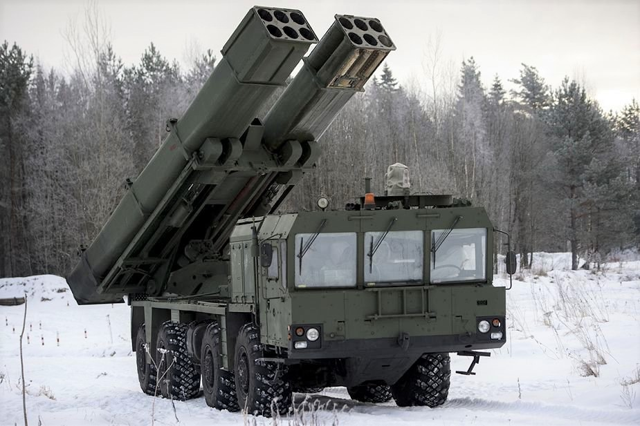 Russian Central district receives Tornado S MLRS