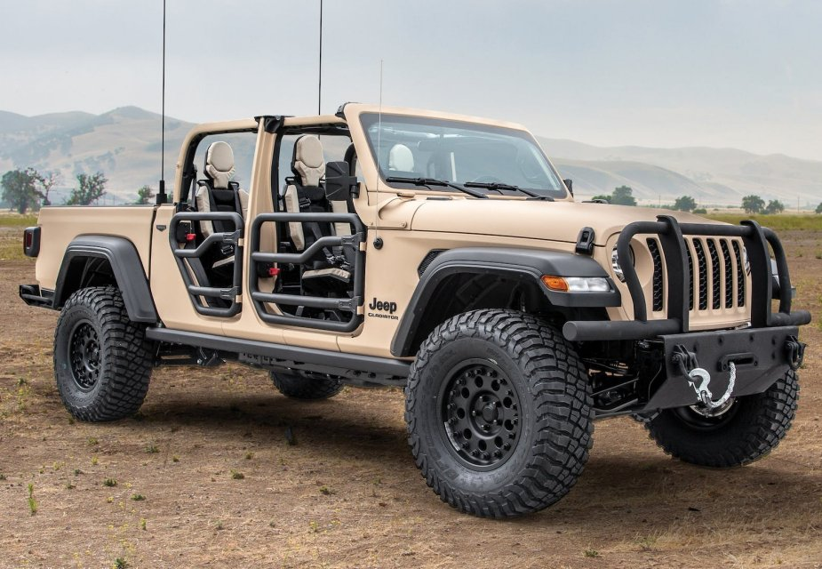 AM General Jeep Gladiator MXT proposed as U.S. Army light tactical vehicle 1