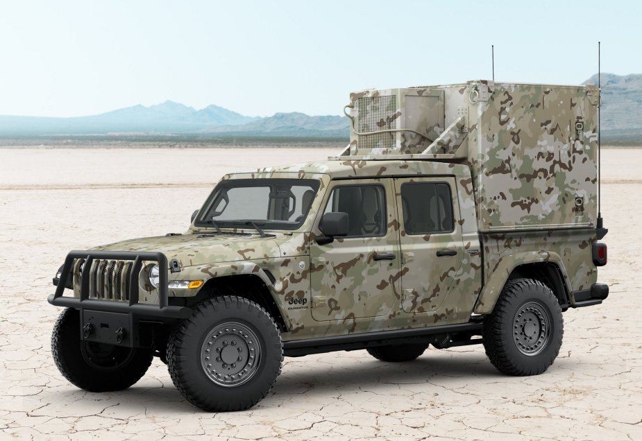 AM General Jeep Gladiator MXT proposed as U.S. Army light tactical vehicle 2