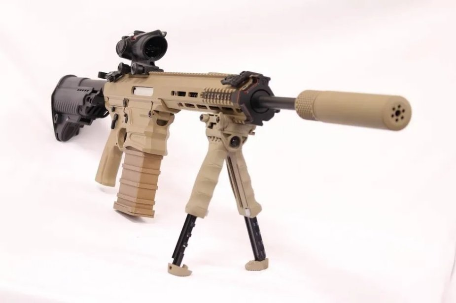 MARS Inc. and Cobalt Kinetics unveiled proposed successor to M4 carbine and M249 SAW