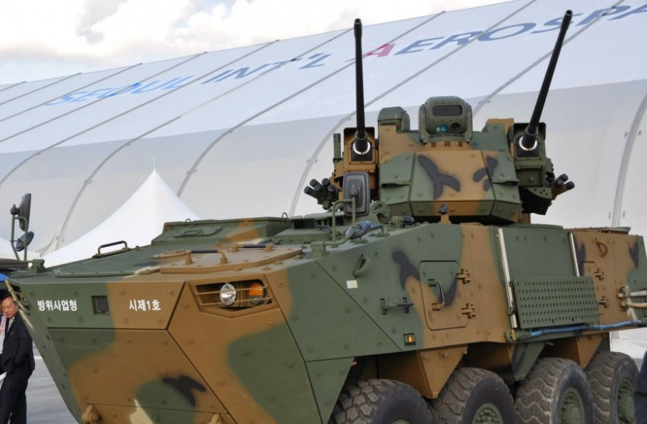New South Korean air defense system on 8x8 chassis presented at ADEX 2019 1
