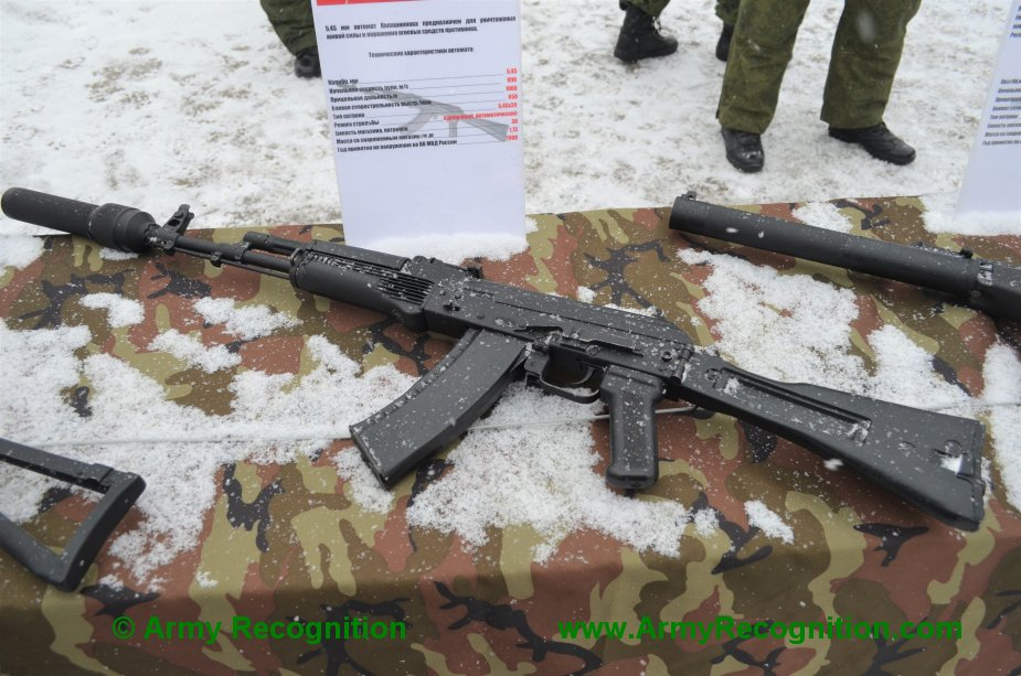 Russian ZVO special operations units rearmed with modified AK 74M