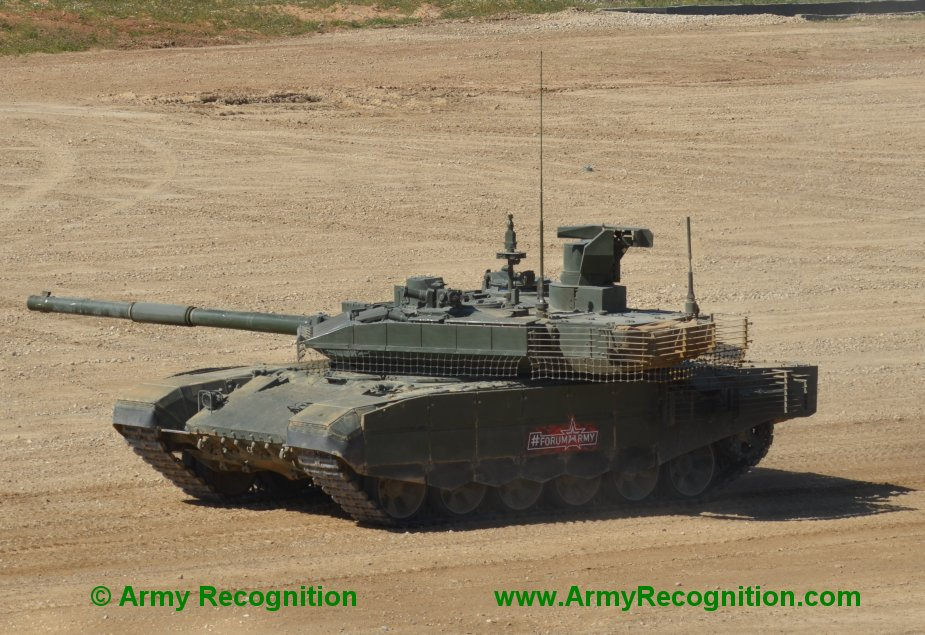 T 90M tank may become main combat tank for Russian ground troops