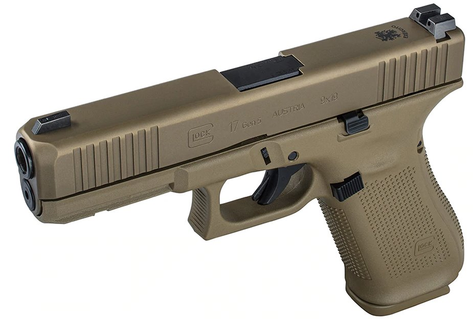 The army of Portugal to buy Glock Coyote Tan G17 pistols