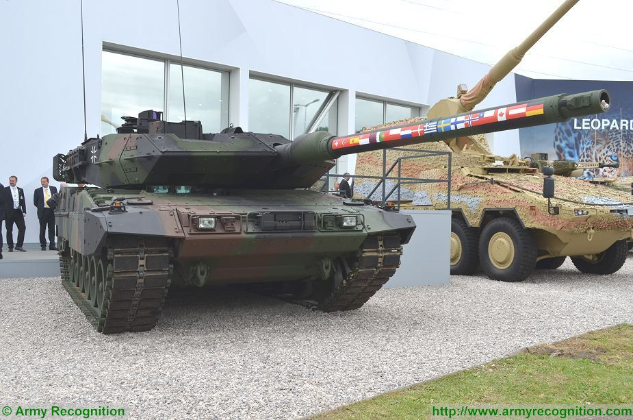 kmw leopard 2a7 2a7v german armed forces denmark armed forces 2