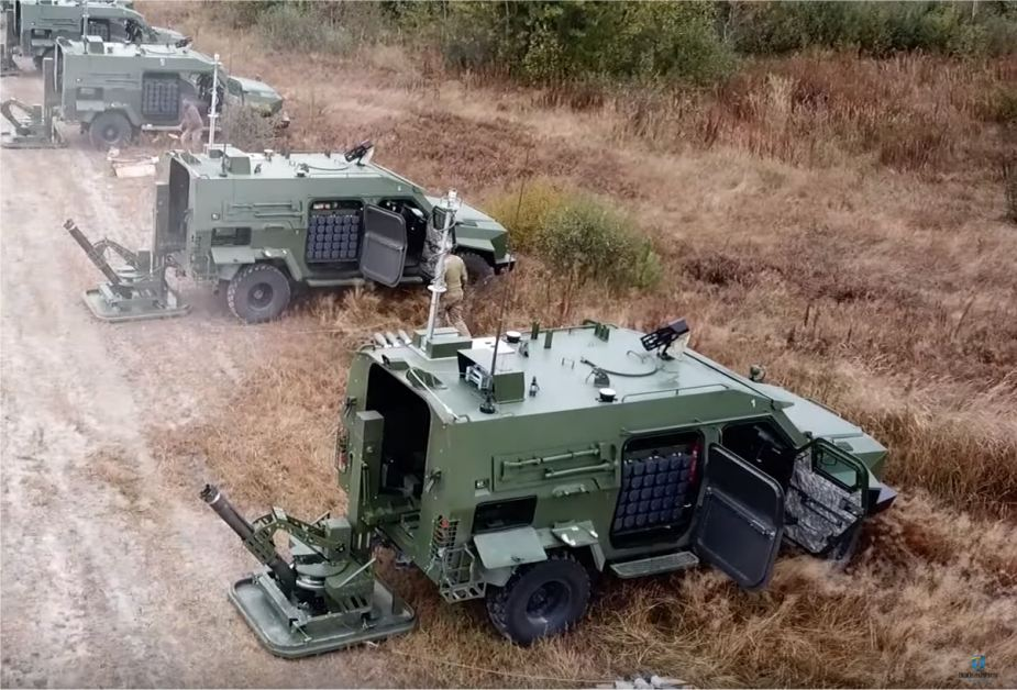 BARS 8MMK 120mm mobile mortar system in service with Ukrainian army 925 001