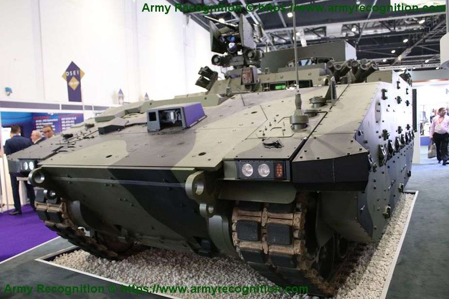 General Dynamic unveils ATHENA command post of AJAX family tracked armored vehicle 925 001
