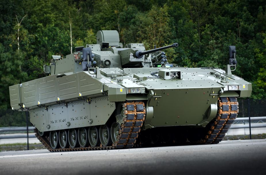 General Dynamics demonstrates capabilities of AJAX family of tracked armored at DSEI 2019 925 001