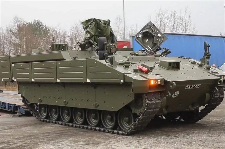 General Dynamics demonstrates capabilities of AJAX family of tracked armored at DSEI 2019 925 002