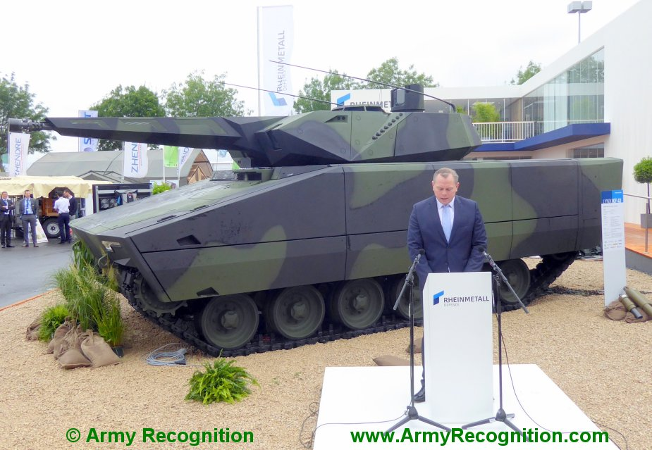 Raytheon Rheinmetall form joint venture for US Army combat vehicle competition