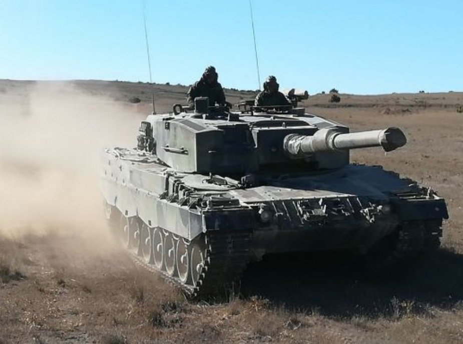 SDLE awarded contract for maintenance of Spanish Leopard 2A4 turrets 1
