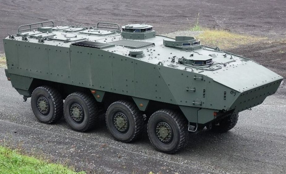Three contenders for replacement of Japanese Type 96 APC 63