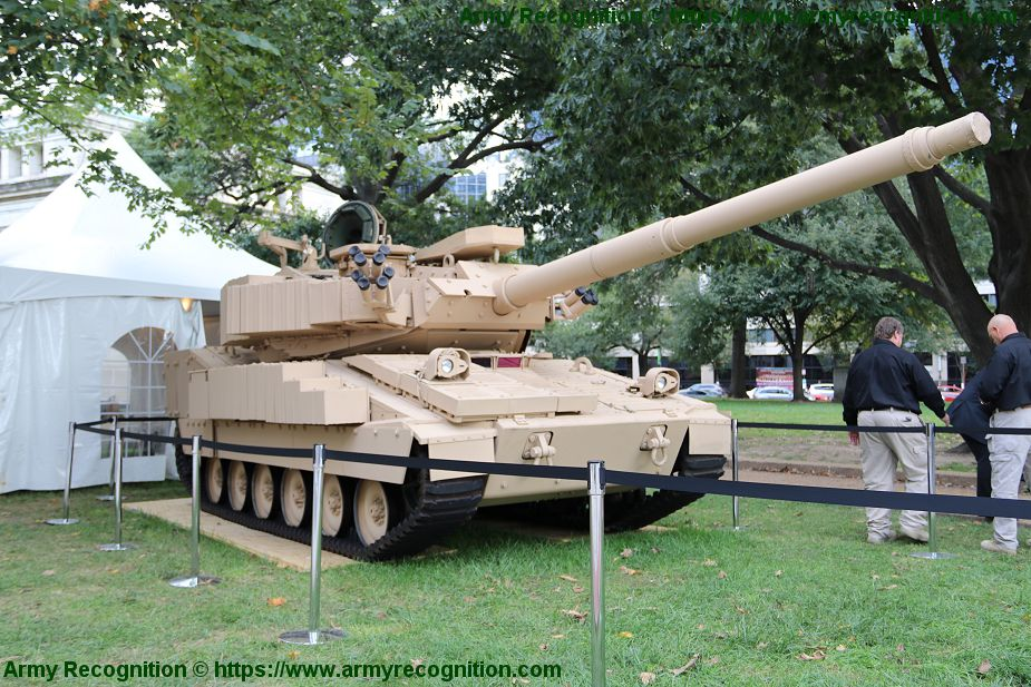 Light tank project of BAE Systems for Mobile Protected Firepower MPF program of US Army 925 002