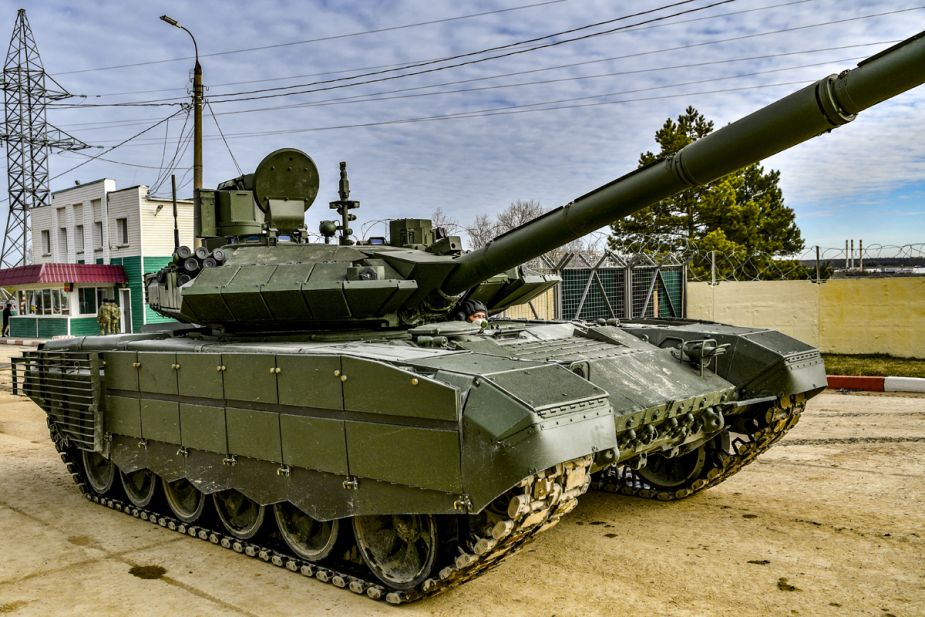 Russian army has taken delivery of first T 90M Proryv main battle tanks 925 002