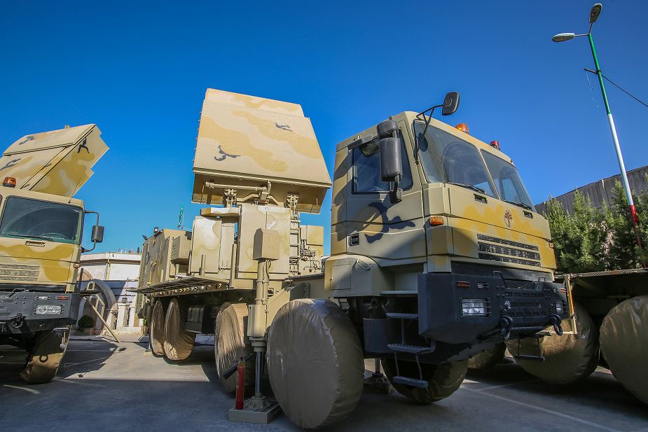 Acquisition radar Bavar 373 Iranian made air defense missile system analysis battery 925 001